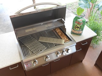 Outdoor Grill Polymer Cabinet